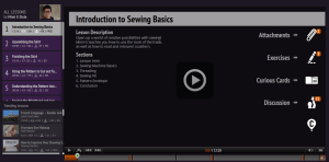 Mimi G Introduction Sewing Basics