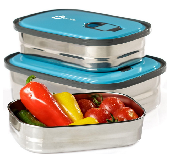 Bento-Lunch-Box-Food-Container-Storage-Set-3-In-1.-Leak-Proof-Stainless-Steel-Can-with-Lids